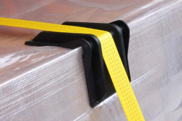 Kantenschutzecke für Papierrollen