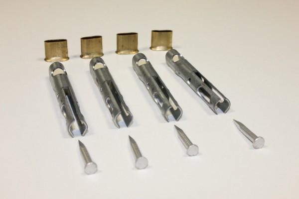 4x Endstück für Zollseil | Planseil | Stahldraht 6mm