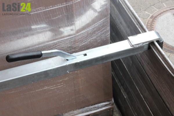 2x Zwischenwandverschluss Stahl