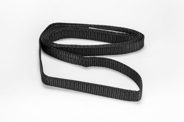 Bandschlinge 1000 kg schwarz