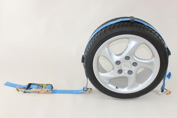 8tlg. ALLROUNDER SET 1 !! Auto Zurrgurt / Spanngurt / Autotransportgurt, Trailer, PKW