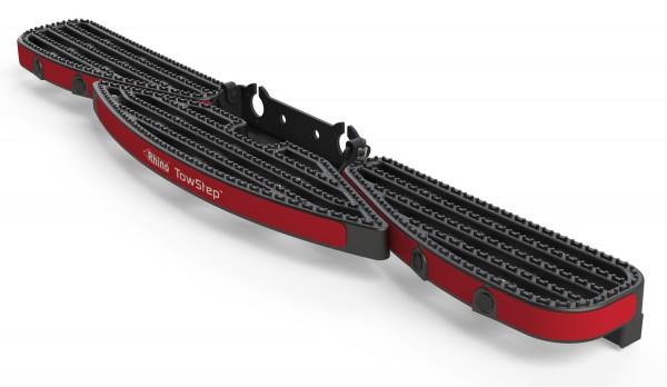 Heckstufe mit Zugvorrichtung TowStep Schwarz | ohne Parksensoren