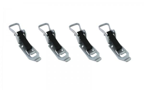 4x Schaufelhalter | Spatenhalter | Besenhalter