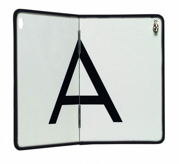 Hochwertige A-Tafel Stahlblech Kantenschutz Abfalltafel A Schild