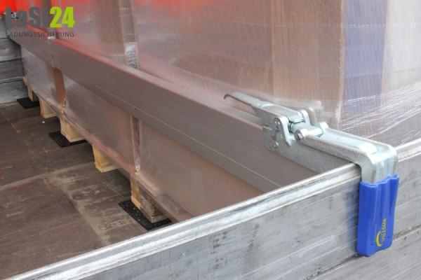 2x Zwischenwandverschluss ALU 2.400 - 2.700 mm