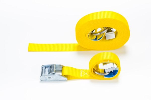 Klemmschlossgurt gelb LC 250 daN
