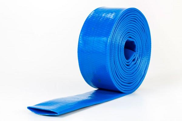Kantenschutzschlauch dunkelblau gummiert