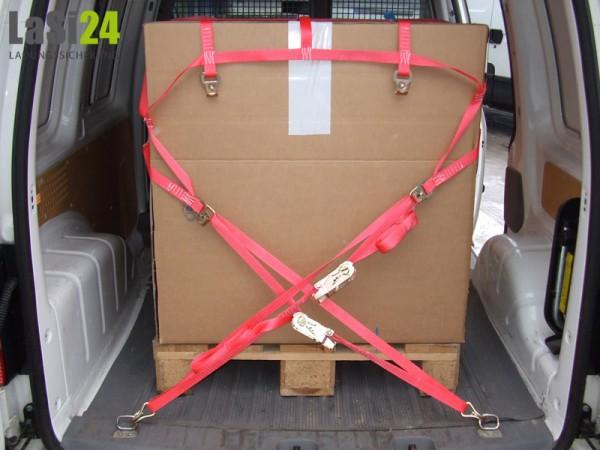 1x Ladungssicherungsnetz für Transporter 1,35x1,57 m