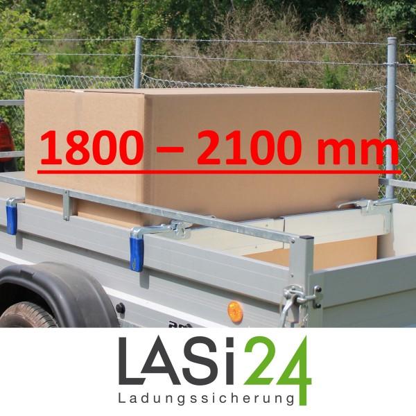 2x Zwischenwandverschluss ALU 1800 - 2100 mm