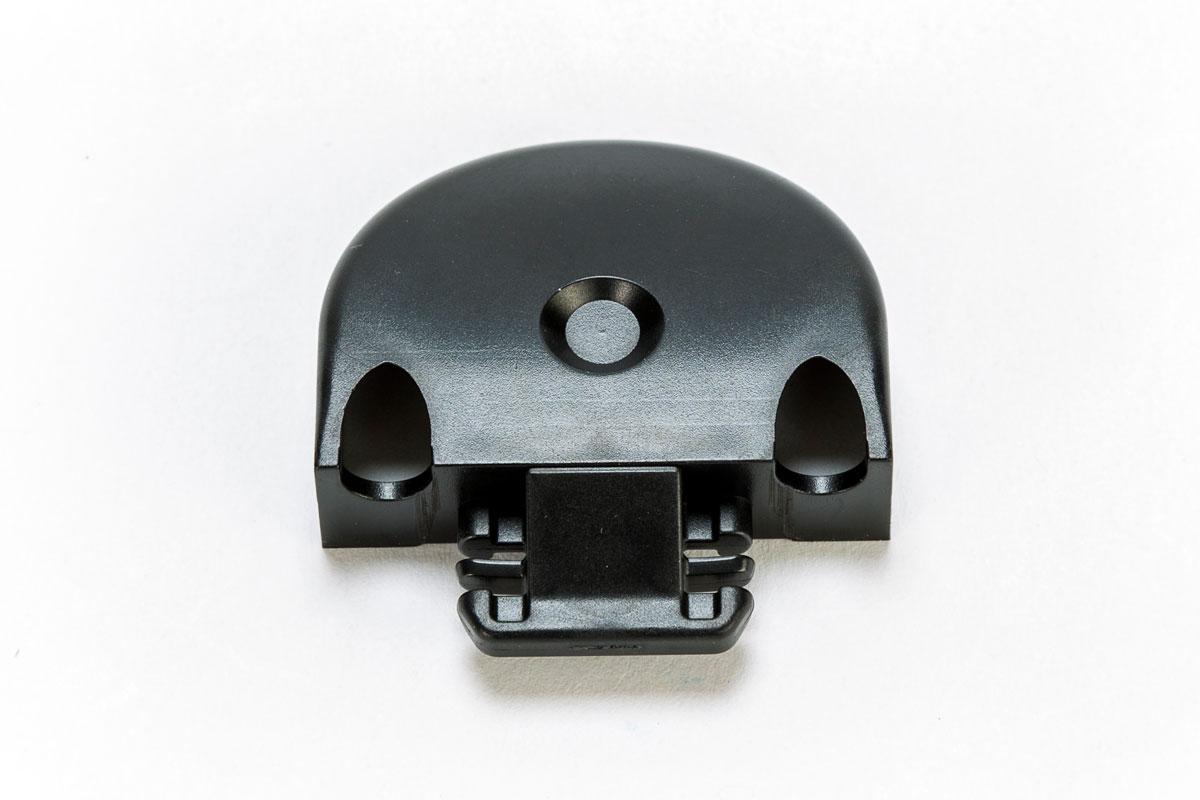 Endkappe//Einsteckkappe f/ür St/äbchenzurrschiene mit Gummi schwarz Kunststoff