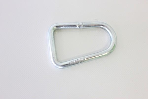 1x D-Ring für 35 mm Spanngurte 3000 daN Bruchlast