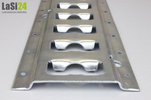 2x Ankerkombizurrschiene aus Stahl 1,5 m