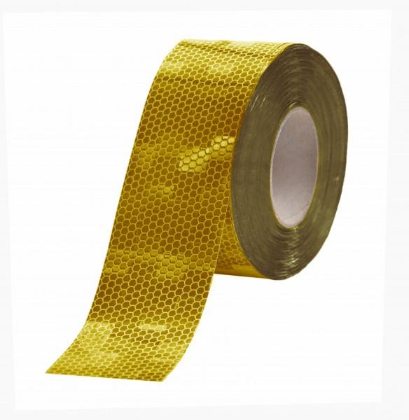 LKW Konturmarkierung Festaufbau ECE-104 Rolle SK-Folie gelb
