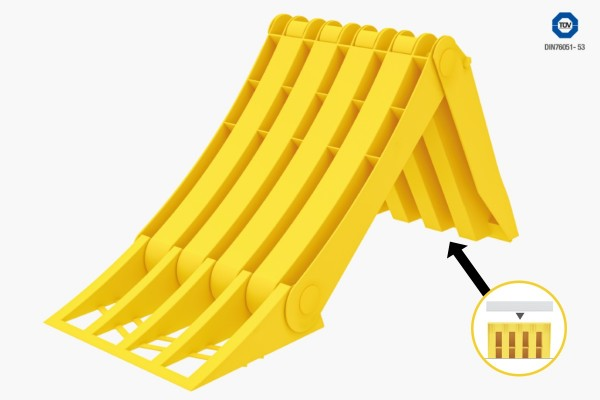 Lokhen Origamy Unterlegkeil   Hemmschuh