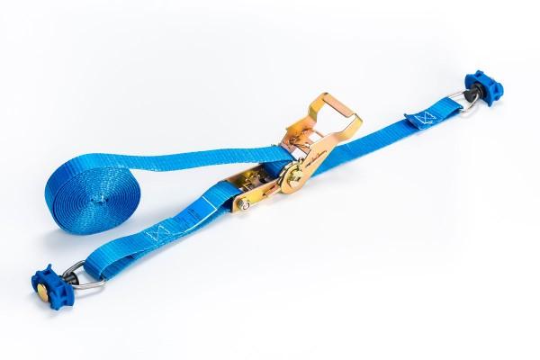2tlg Ratschengurt 500 daN blau