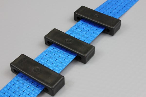 100x Kantenschutz für Auto Spanngurt / Zurrgurt Autotransportgurt, 35 mm, schwarz