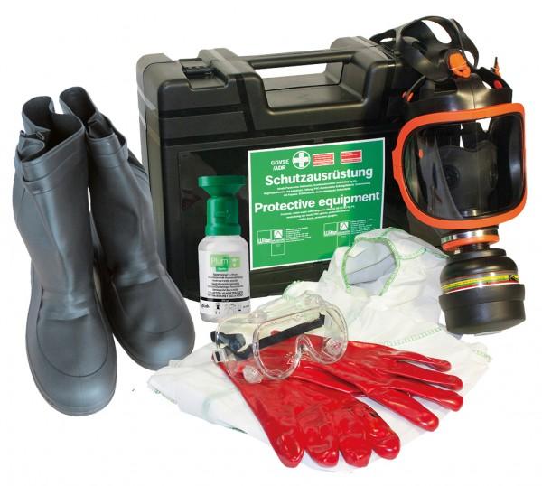 Gefahrgutkoffer 73 SN-VM Schutzausrüstung GGVSE | ADR mit Überziehstiefel