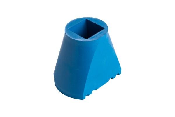 Gummifuß für Vierkantklemmbalken