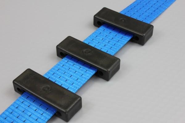 50x Kantenschutz für Auto Spanngurt / Zurrgurt Autotransportgurt, 35 mm, schwarz