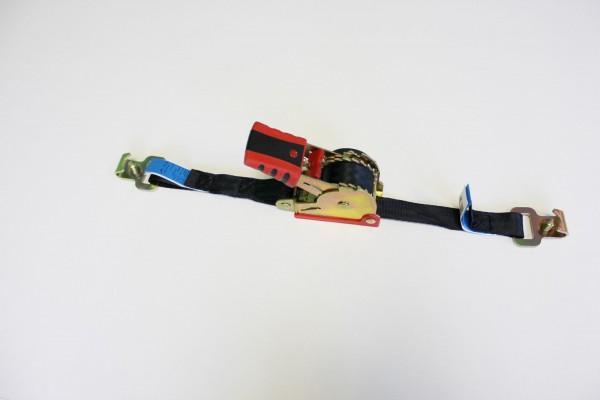 Automatikspanngurt schwarz für Stäbchenzurrschiene