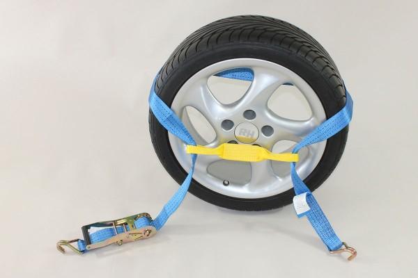 8tlg. ALLROUNDER SET 2 !! Auto Zurrgurt / Spanngurt / Autotransportgurt, Trailer, PKW