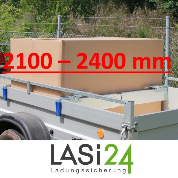 2x Zwischenwandverschluss ALU 2100 - 2400 mm