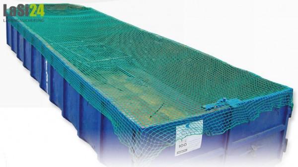 Abdecknetz / Containerabdecknetz / Anhängernetz 1,5 x 2,7 m