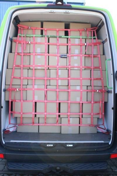 KEP - Ladungssicherungsnetz für Transporter
