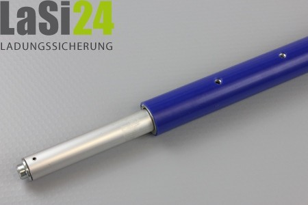 ALU-Sperrstange 1.440 - 1.890 mm PVC
